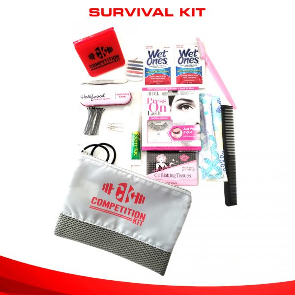 bikini competition survival kit