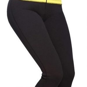Neoprene leggings with waist trimmer