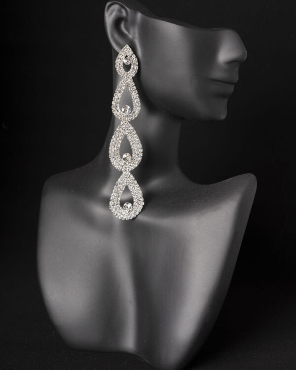 Bikini competition earrings