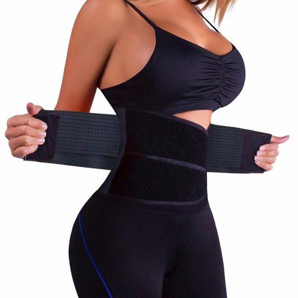 Velcro waist cincher