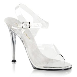 Clear competition shoes for wide feet