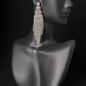 Rhinestone Competition Earrings