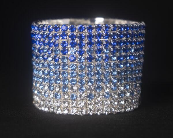 Rhinestone competition bracelet
